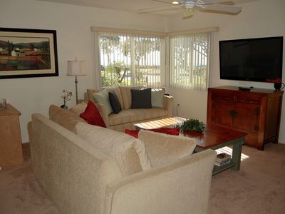 Photo for Coastal Accommodations: Fun, Romance, Steps to Beach, Ht'd Pool, Ocean View!!