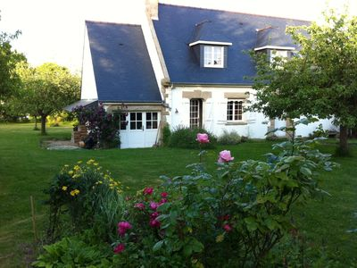 Photo for Great Breton villa, with garden, beach within walking distance
