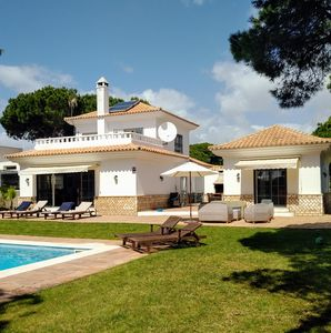 Photo for Private Villa with own pool , Wi fi , Air con and Log fire