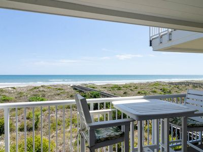 Photo for Enjoy beautiful views from this oceanfront condo located by community pool