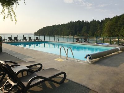 Enjoy a day or 2 at our beautiful seaside pool & hot tub