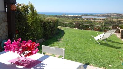 Photo for spectacular sea views, villa is perfect for families and couples, pets allowed