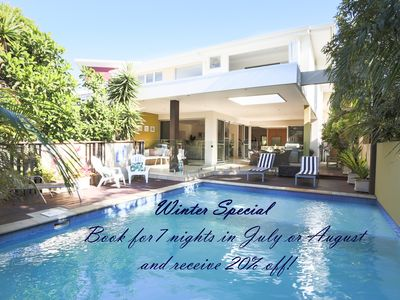 Photo for PERFECT Casuarina location. Beautiful house with pool near beach & shops