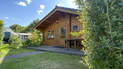 Photo for Wooden chalet for 4 people in a small holiday park in Ossenisse