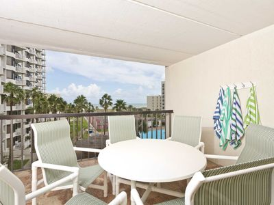 Saida III 407 - Living is Easy in this 4th Floor Corner Unit with Ocean Views, BBQ Grill on Private Over-sized Balcony