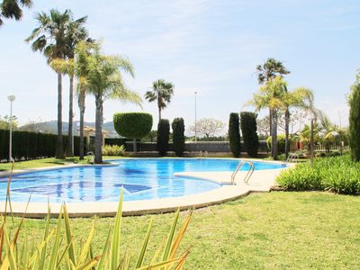 Photo for Family Friendly Penthouse Duplex Javea, close to the beach,3 bed, pool, Sky, Wif