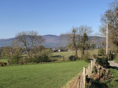 Front of House view to Mt Leinster and across the farming community