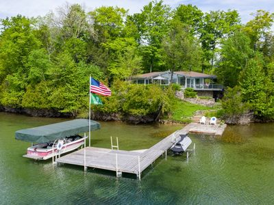 Photo for The Mid-Century Glass Cottage 3 Bedroom and 2 Bathrooms on Walloon Lake!