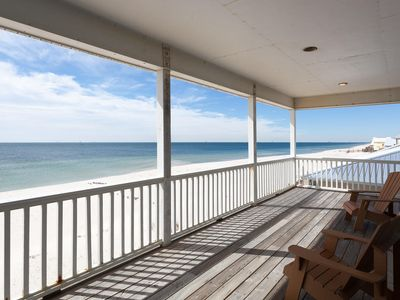 Photo for Secluded Low Density uncrowded , Gulf Front, Oceanfront Home !