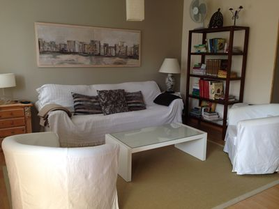 Photo for Beautiful apartment in beach Langosteira