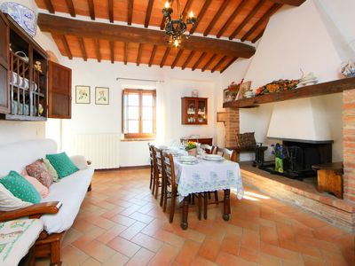 Photo for Vacation home Il Pulito in Cetona - 6 persons, 3 bedrooms