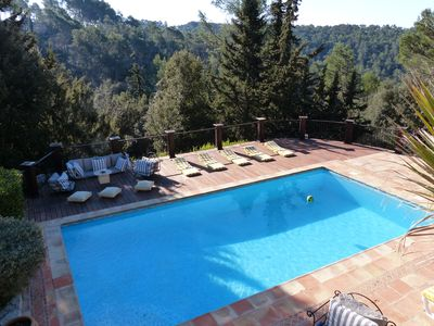 Photo for Beautiful Provencal property heated pool.