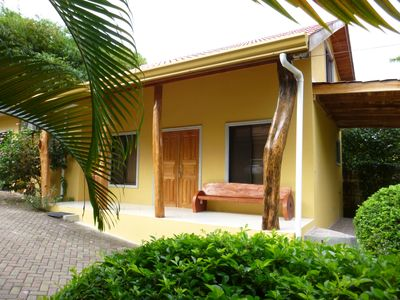 Photo for Casita Pacifica- A small luxury house only steps from Samara Beach