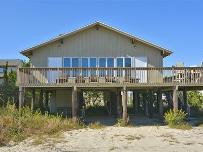Photo for FREE ACTIVITIES!! This 3 bedroom, 2 bath beach house is just one lot back from the ocean front offering plenty of ocean sights & sounds!
