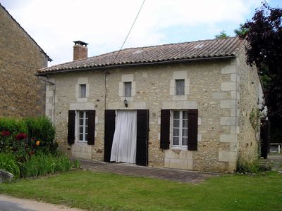 Photo for 200 Year Old Charentaise stone Cottage in the  Countryside