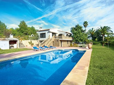 Photo for Wonderful private villa for 6 people with WIFI, private pool, TV, balcony and parking