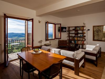 Photo for A View From The Top Is An Apartment In The Most Enchanting Part Of Montepulciano