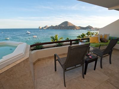 Photo for BEST Location in Cabo! Labor Day in Paradise! LUXE 1Bd OCEANFRONT with TERRACE