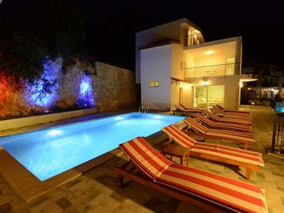 Photo for Villa Kalkan Gorunum, located in an elevated position offering spectacular views of Kalkan and the B