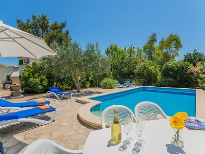 Photo for This 4-bedroom villa for up to 8 guests is located in Pollensa  and has a private swimming pool, air