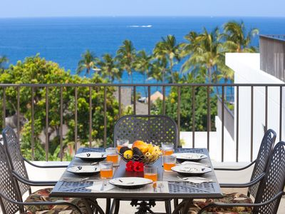 Photo for 5⭐️Sweeping Ocean/Coastline View - Ocean Front Pools Quiet and spacious