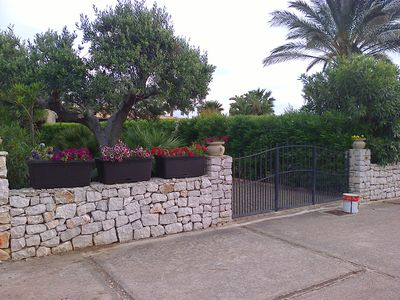Photo for Apartment in a cottage in the gardens of san vito