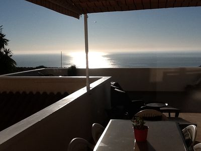 Photo for Front line, sea view, AC, wifi, pools, refurbished 2 bedrooms 2 baths