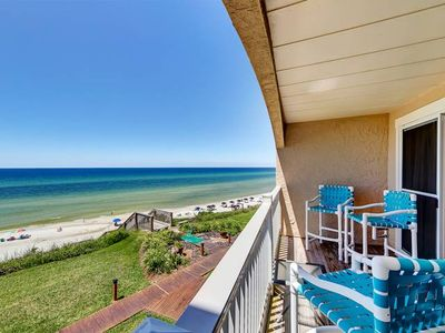 Photo for Beautifully decorated Gulf Front Townhome in Seacrest Beach!
