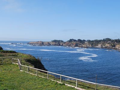 Photo for Ocean Front Property ~ Mendocino, Ca