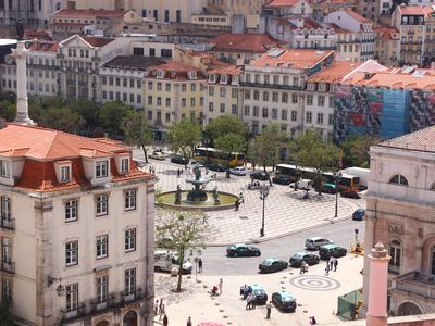 Photo for Overlooking the Rossio, Air Conditioning, Free WiFi