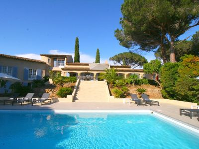 Photo for Luxury southern French villa, 5 minutes from Saint-Tropez and the beaches of Pampelonne