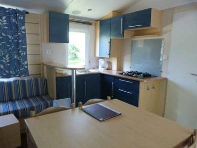 Photo for Camping L'Eau Vive *** - 4 room mobile home 6 people