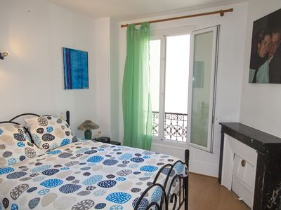 Photo for Porte de Paris, 36 m² quiet, with garage, 2 rooms (2 beds), Linen included