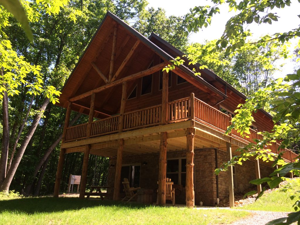 cabin ohio gallery in pine logan cabins hills lodging company hocking exlga photo big buffalo