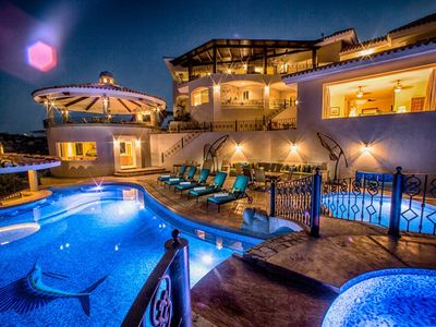 Photo for VILLA LAS PALMAS--NEWLY RENOVATED LUXURY VILLA WITH GORGEOUS VIEWS OF CABO!