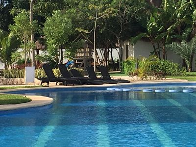 Photo for Cozy house in condo, 5 min from 5a & the beach, 15 min from Xcaret. Wi-Fi and TV