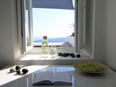 Photo for (w) Villa Fira Maisonette - Fira - Beautiful 1 Bedroom Villa with Jacuzzi