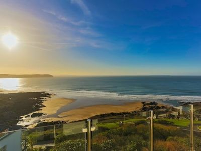 Photo for WOOLACOMBE BLUE HORIZON | 4 Bedrooms | Panoramic sea views