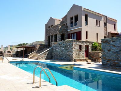 Photo for Stylish & spacious villa with a swimming pool and amazing sea view