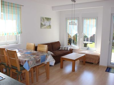 Photo for 3 rooms terrace OH - ** 300m to the Baltic beach ** Bj. 07, south balcony / terrace