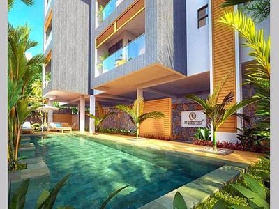 Photo for LUXURY NEW PENTHOUSE IN 2 MINS BEACH SEA VIEW 3 BEDROOM WIFI JACUZZI SWIMMING POOL