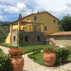 Photo for New Luxury Apartment in Tuscany, Near Lucca with 5 x 12 metre swimming pool