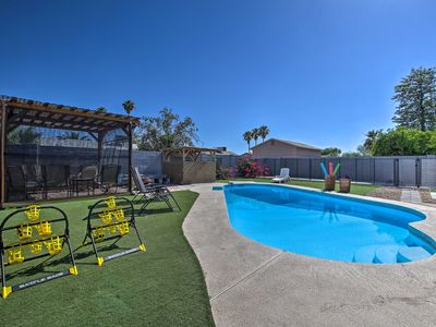 Photo for NEW-Updated Phoenix Home w/ Pool, Patio & Fire Pit