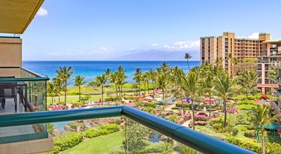 Photo for K B M Hawaii: Ocean Views, 5th Floor Luxury 2 Bedroom, FREE car! Jun, Jul, Aug Specials From only $229!