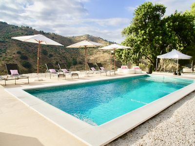 Photo for Villa of very high standing located in a natural park, near Malaga.