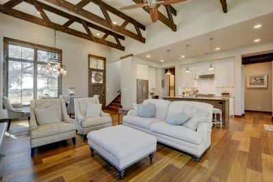 Living Room - Welcome to Spicewood! This house is professionally managed by TurnKey Vacation Rentals.