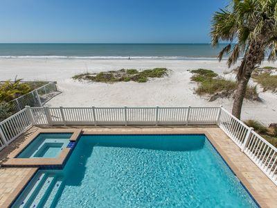 Photo for Direct Beach Front - Pool Home - 6 Bedrooms - 4.5 Baths - Newly Built