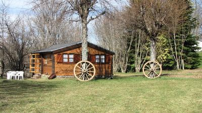 Photo for Camping Le Clos de Banes - Chalet for 4 people