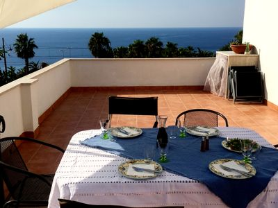 Photo for Located directly on the steep coast, with breathtaking views over the wide sea