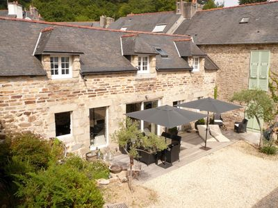 Photo for Charming old farmhouse in the heart of Pont-Aven, downtown all on foot, WIFI